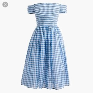 J. Crew Dresses - NWT JCREW GINGHAM DRESS
